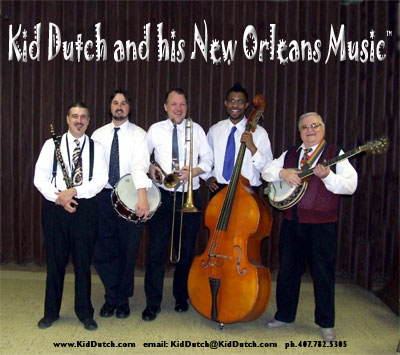 Kid Dutch and his New Orleans Music